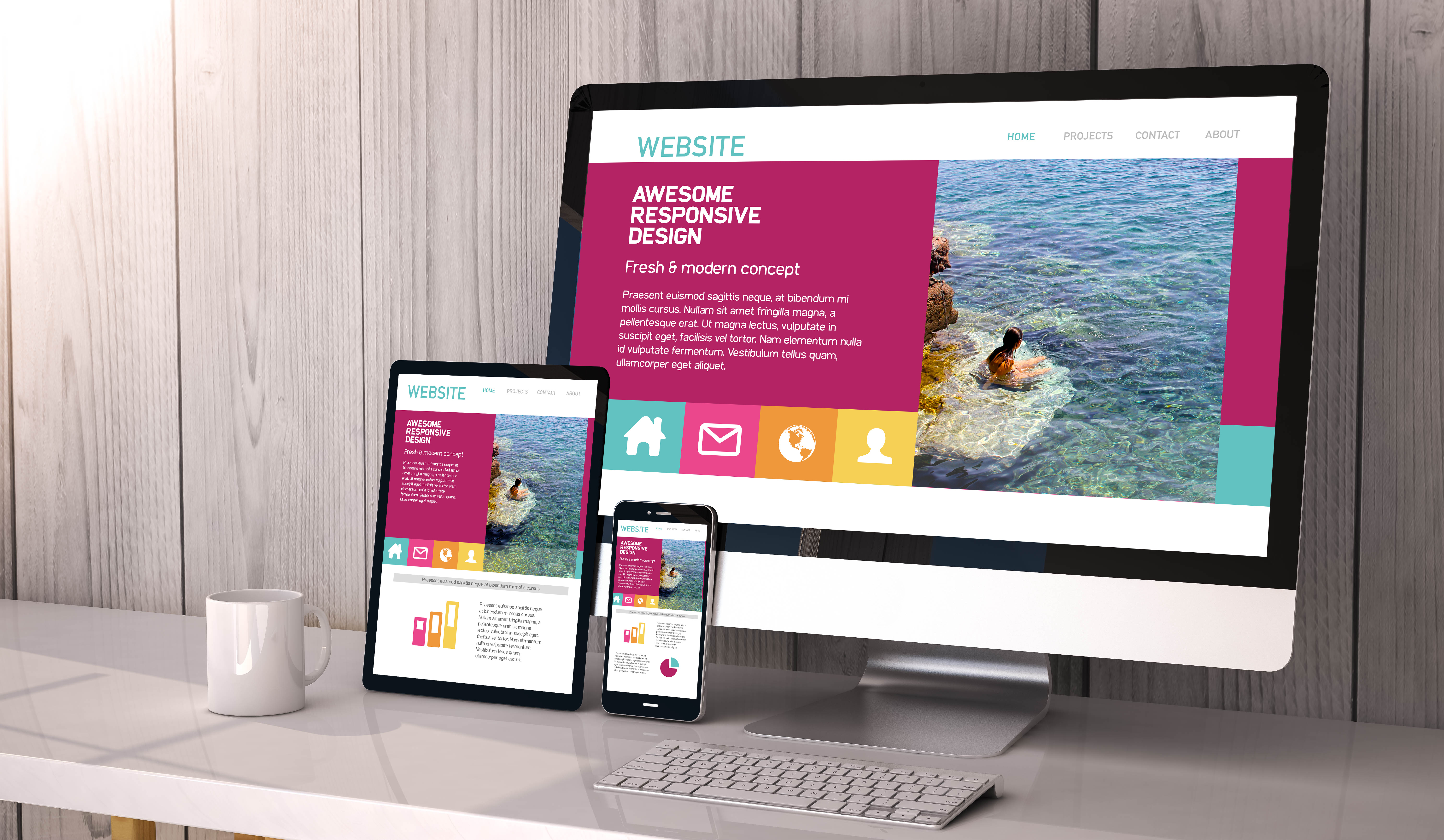 We Can Upgrade Your Website So It Has A Responsive Design