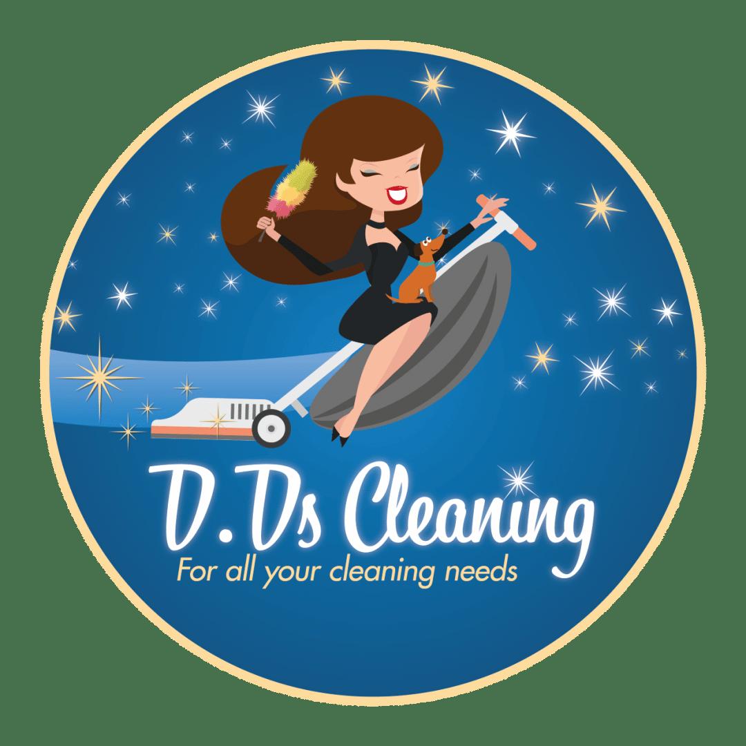 DD's Cleaning logo design